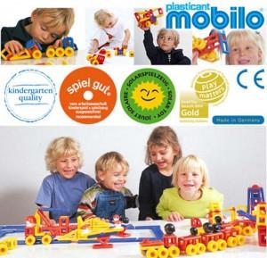 niemieckie klocki Mobilo dla dzieci