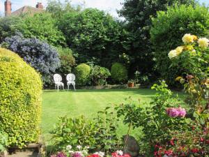 przydomowy ogród ozdobny