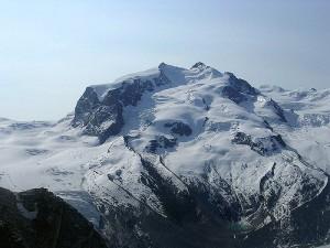 Monte Rosa - widok z Gornergratt