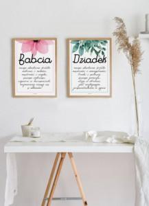 Plakat dla dziadków – wybierz ciekawy prezent foto